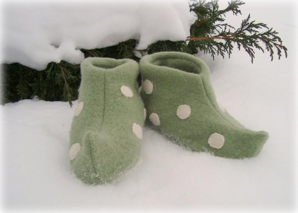 hacer pantuflas recicladas 9