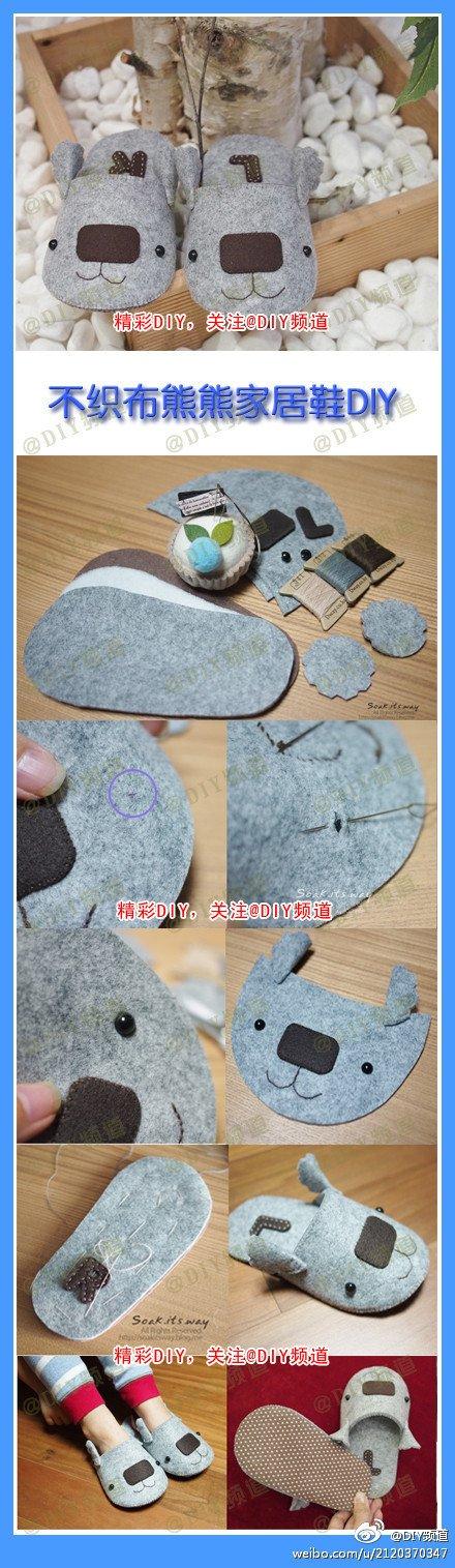 hacer pantuflas recicladas 11