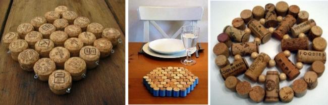 Posafuentes y otras ideas para reciclar corchos