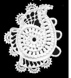 Paisley original en crochet