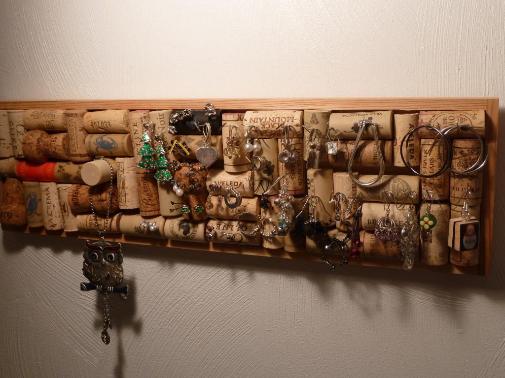 Ideas para reciclar corchos porta bijou