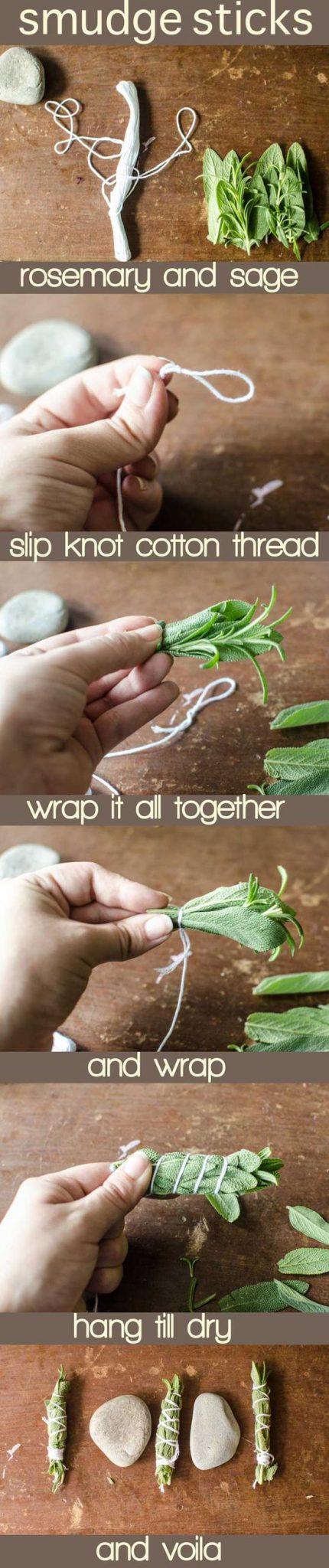 Cómo hacer inciensos caseros con plantas