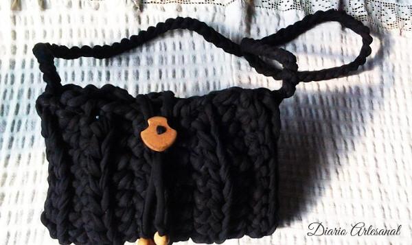 Bolso trapillo negro
