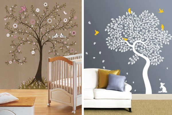 Decorar Paredes Con Estarcido Ideas Y Plantillas Para Stencil