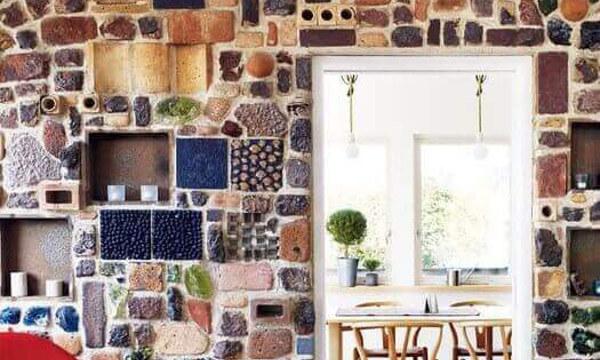 Revestimientos para paredes artesanales