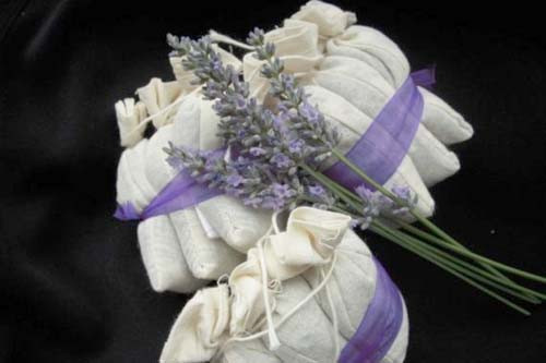Aromaterapia artesanal bolsitas de flores secas