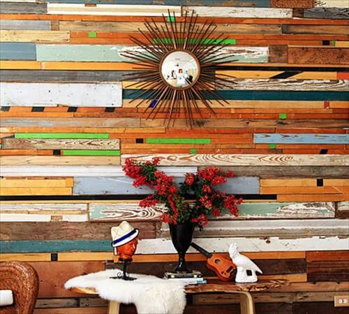 Revestimiento de pared de madera