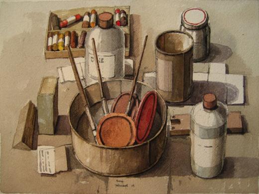 Materiales de arte para artesanos