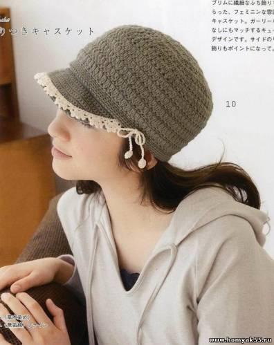 Sombreros Panamá: Patrones de crochet para sombreros de playa ...