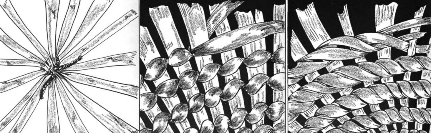 Puntos de cestería natural