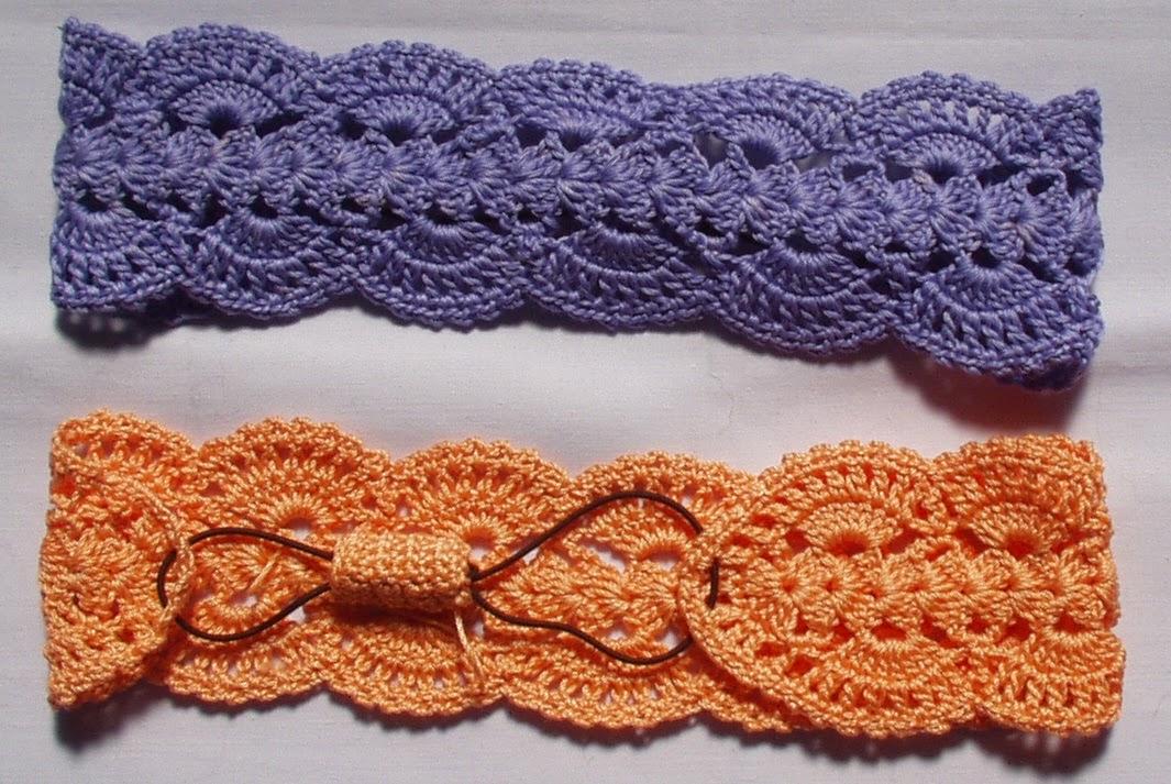Crochet fácil: tejer una vincha japonesa kachumu - Diario Artesanal
