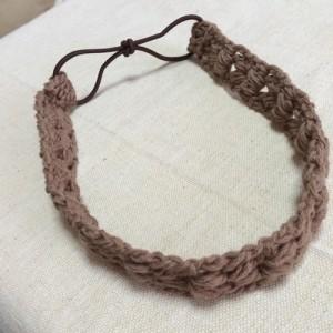 Modelo de vincha japonesa a crochet