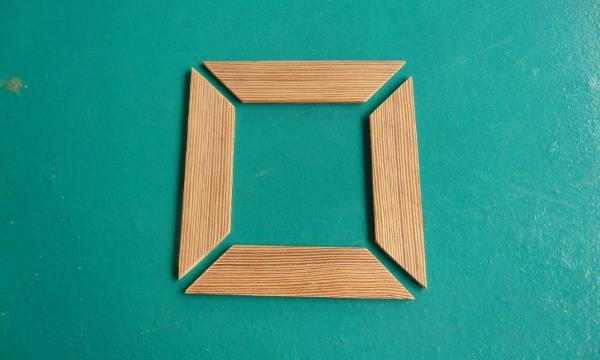 Hacer un marco de madera facil