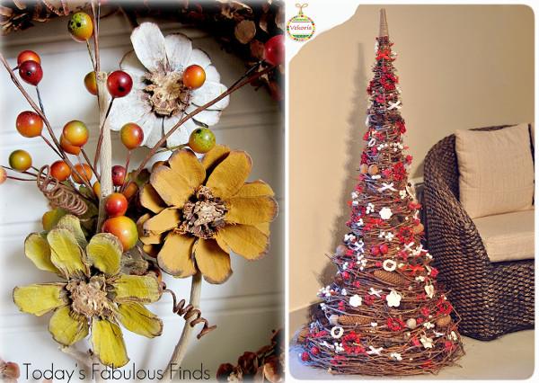 Piñas para decorar en navidad