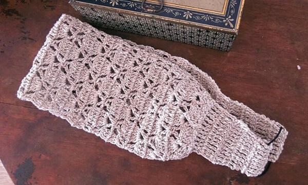 Tejer una vincha japonesa de crochet facil