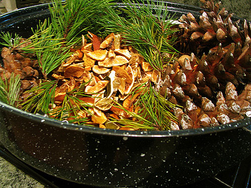 Recetas para hacer popurrí de frutos del bosque