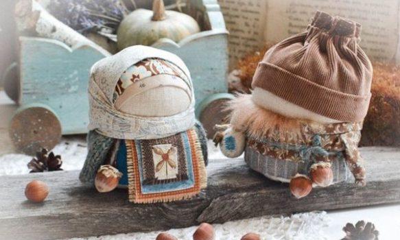 Muñecas de trapo rusas