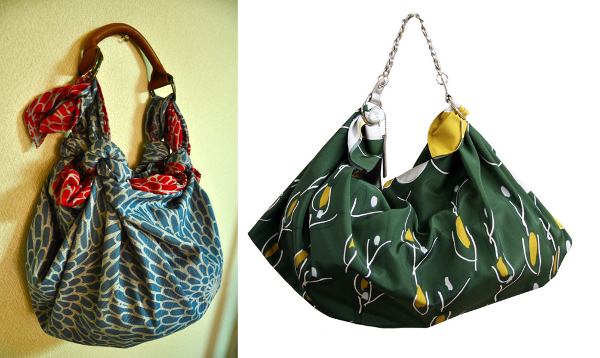 Modelos de bolsos furoshiki