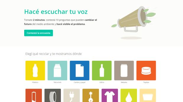 Donar para reciclar en Argentina