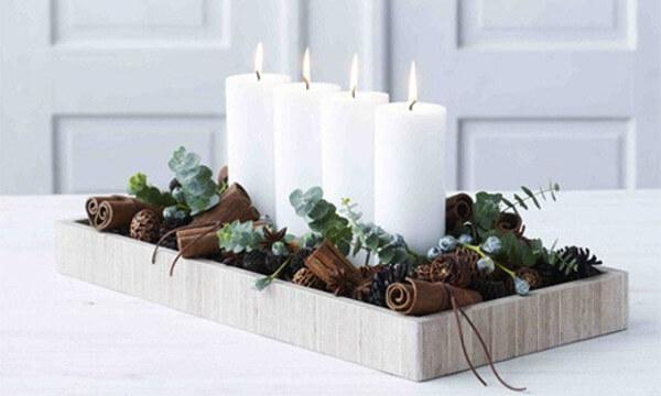Navidad natural decoracion