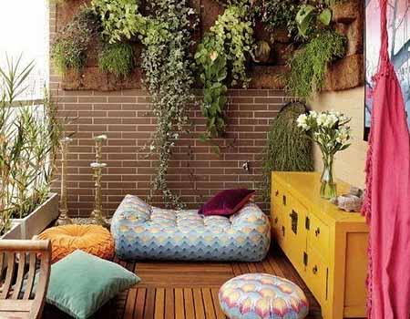 Idea para colgar plantas en la terraza