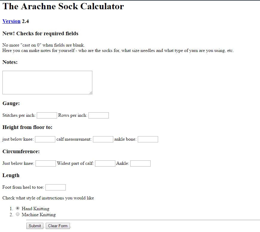 Patrones de calcetines y medias cómo usar la calculadora para conocer los puntos de medias y calcetines
