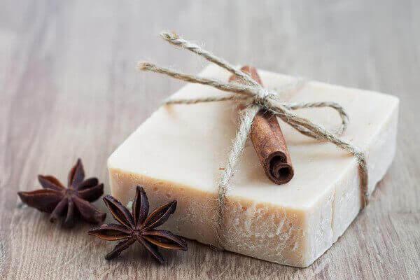 Jabones artesanales idea de presentación de jabón con hilo sisal