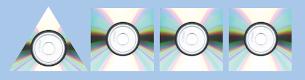 Plantilla para hacer la maceta de cds reciclados triangular