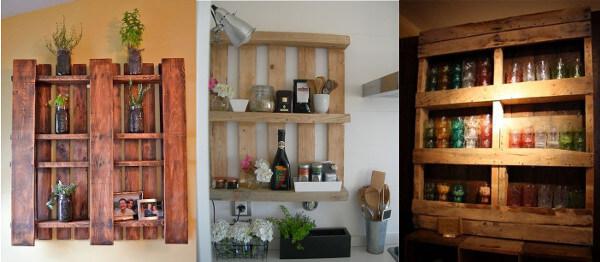 Muebles con palets 70 ideas creativas diario artesanal - Muebles de cocina reciclados ...