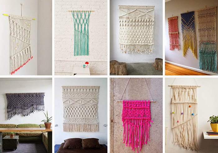 ideas para decorar con macramé 22