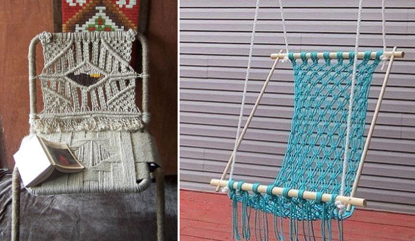 ideas para decorar con macramé 25