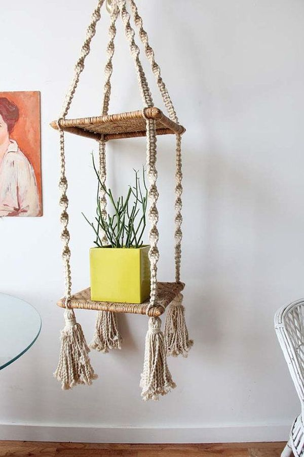 ideas para decorar con macramé 15