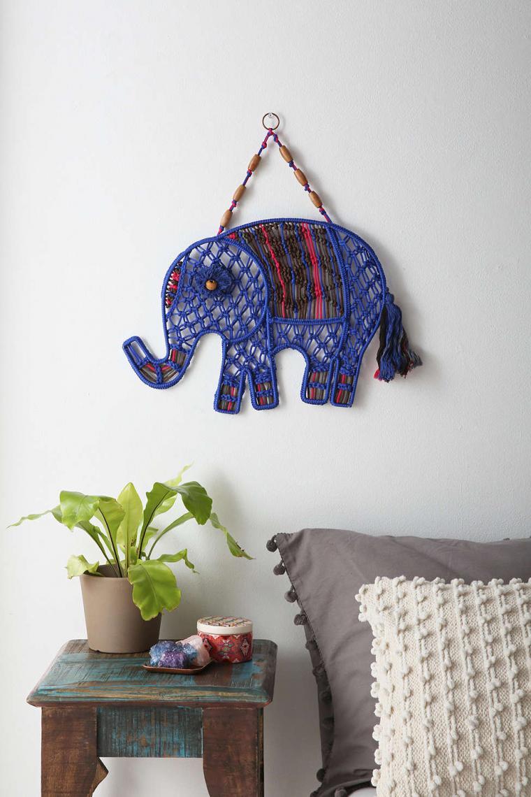 ideas para decorar con macramé 20