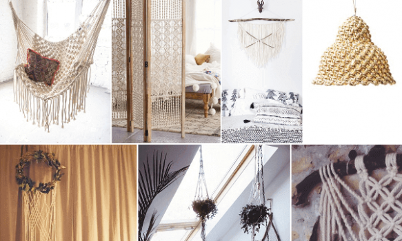 Decorar con macrame