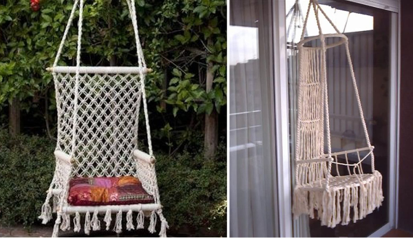 ideas para decorar con macramé 14