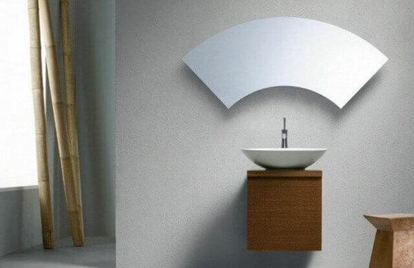 Ideas para decorar con espejos forma parabrisas