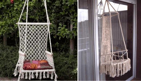 40 Simples ideas para decorar con macramé - Diario Artesanal