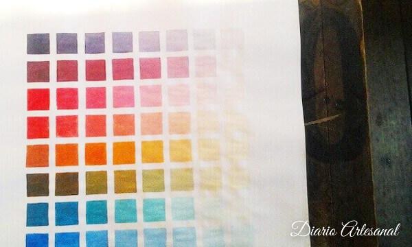 Receta de pintura casera temperas