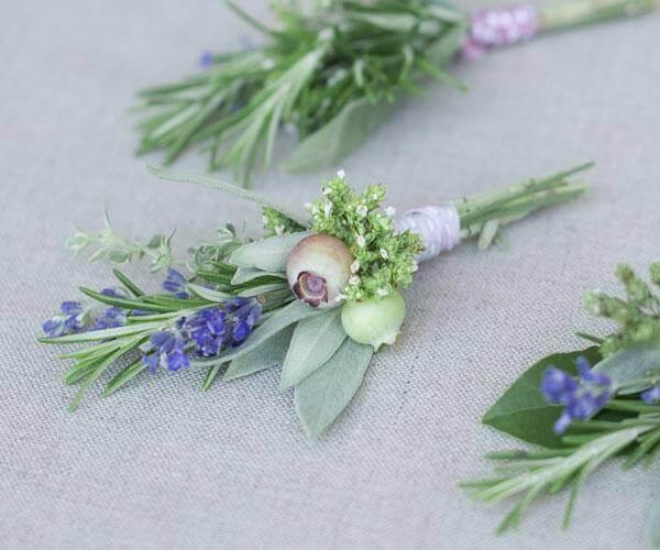 Flores de romero manualidades