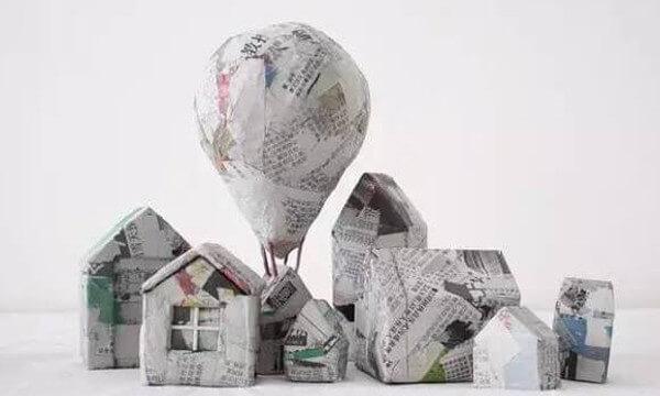 Reciclaje de papel ideas