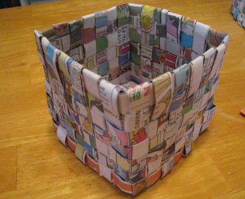 Reciclaje de papel ideas organizadores