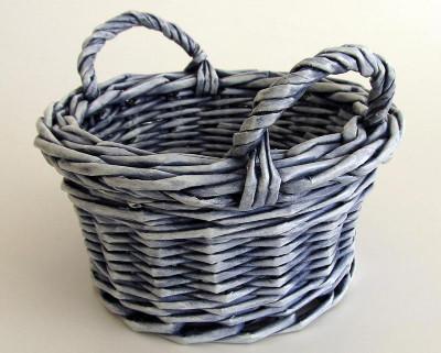 Reciclaje de papel ideas tejidos