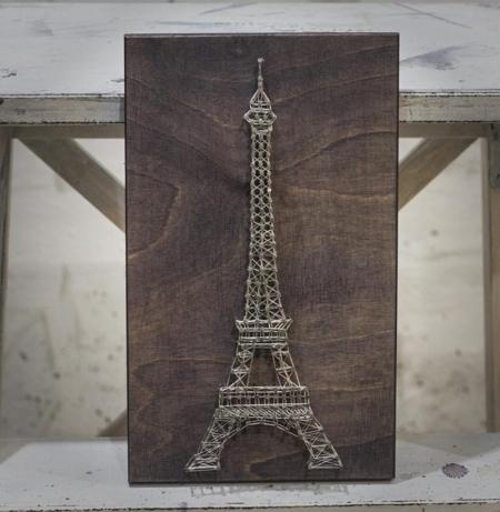Cuadros de hilo Torre Eiffel