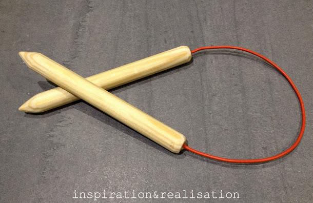 Trucos para tejer cómo hacer agujas para tejer en redondo