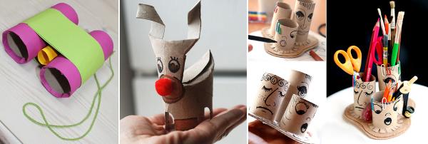 Ideas para reciclar los rollos de papel ideas para niños