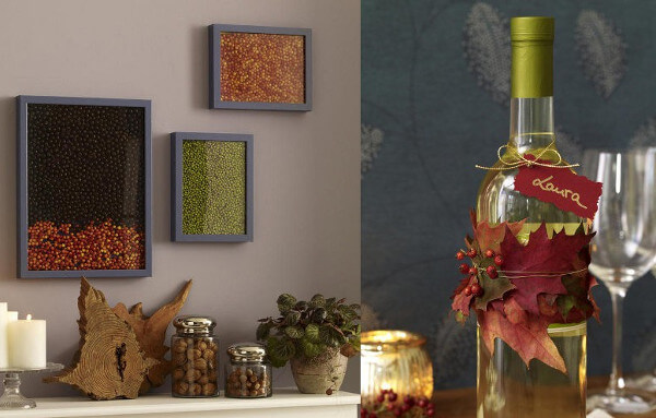 Manualidades para decorar en el otoño