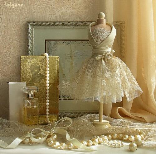 Plantillas para hacer un maniqui de novia