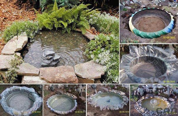 Ideas Creativas Para Jardines Bricolage En El Jardin Diario - Ideas-de-jardin