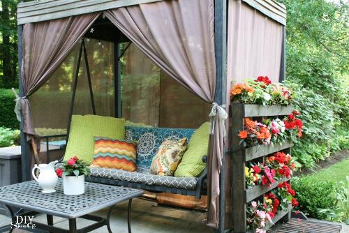 Jardin para plantar en palets y decorar