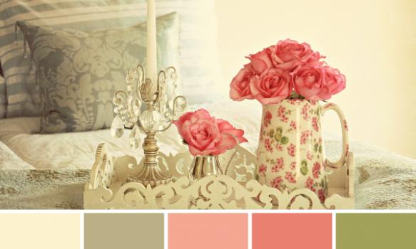 Colores vintage para la decoración